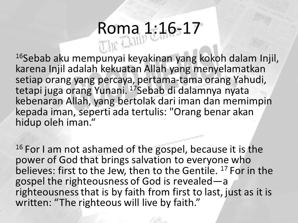 Roma 1:16-17