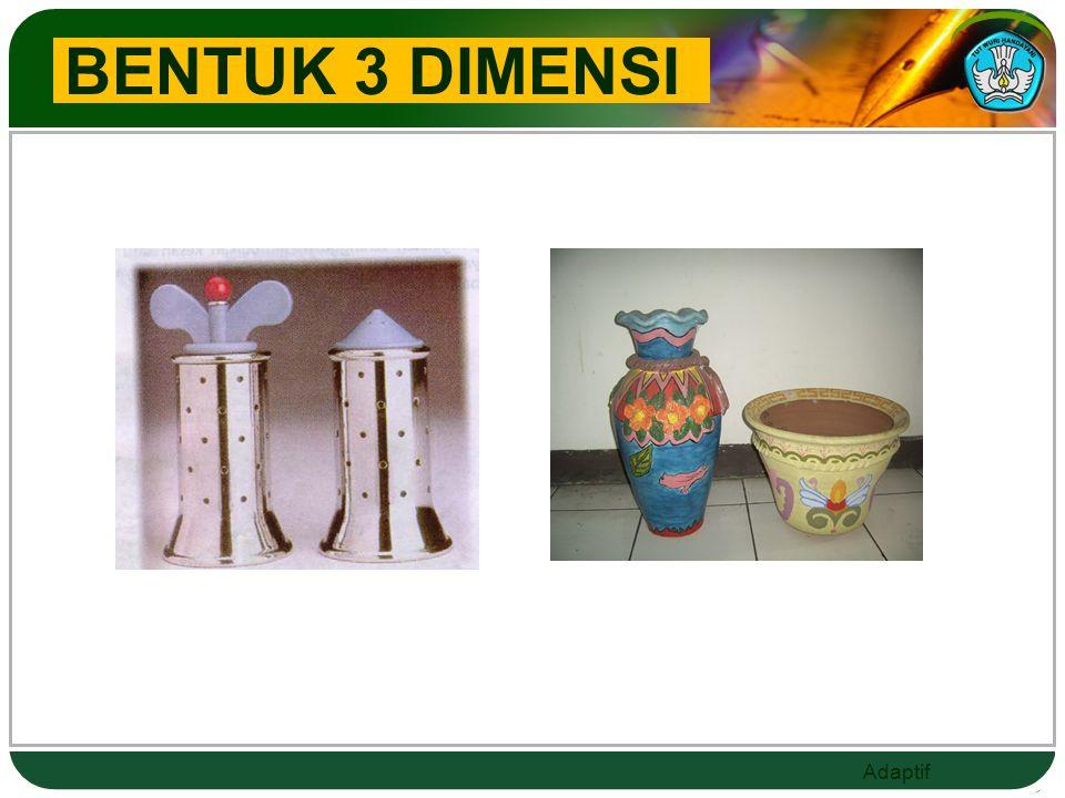 BENTUK 3 DIMENSI