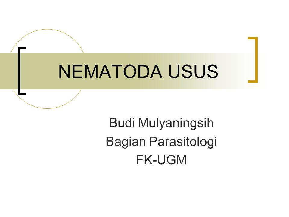 Budi Mulyaningsih Bagian Parasitologi FK-UGM