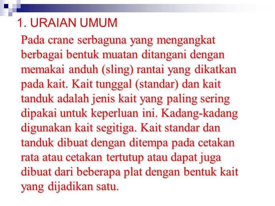 1. URAIAN UMUM