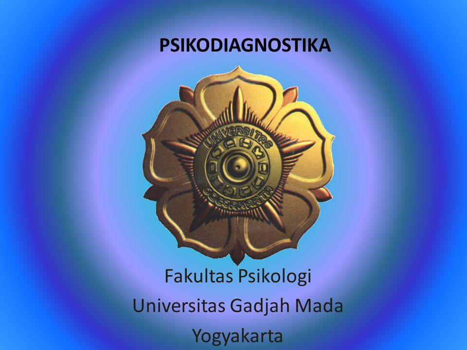 Fakultas Psikologi Universitas Gadjah Mada Yogyakarta