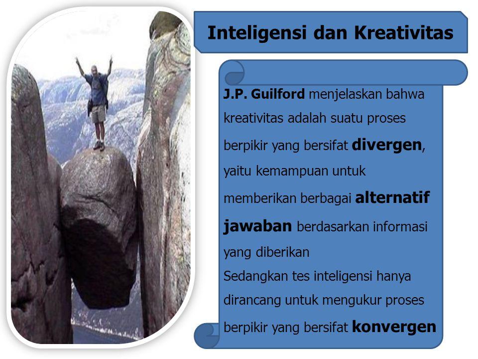 Inteligensi dan Kreativitas