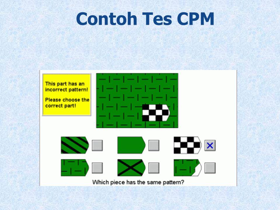 Contoh Tes CPM