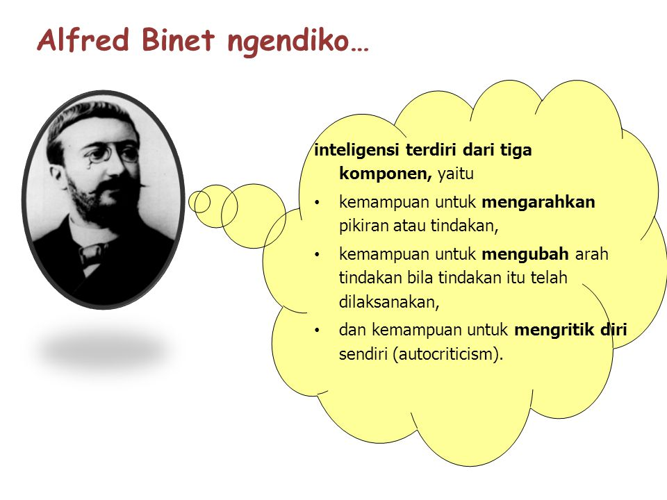 Alfred Binet ngendiko…