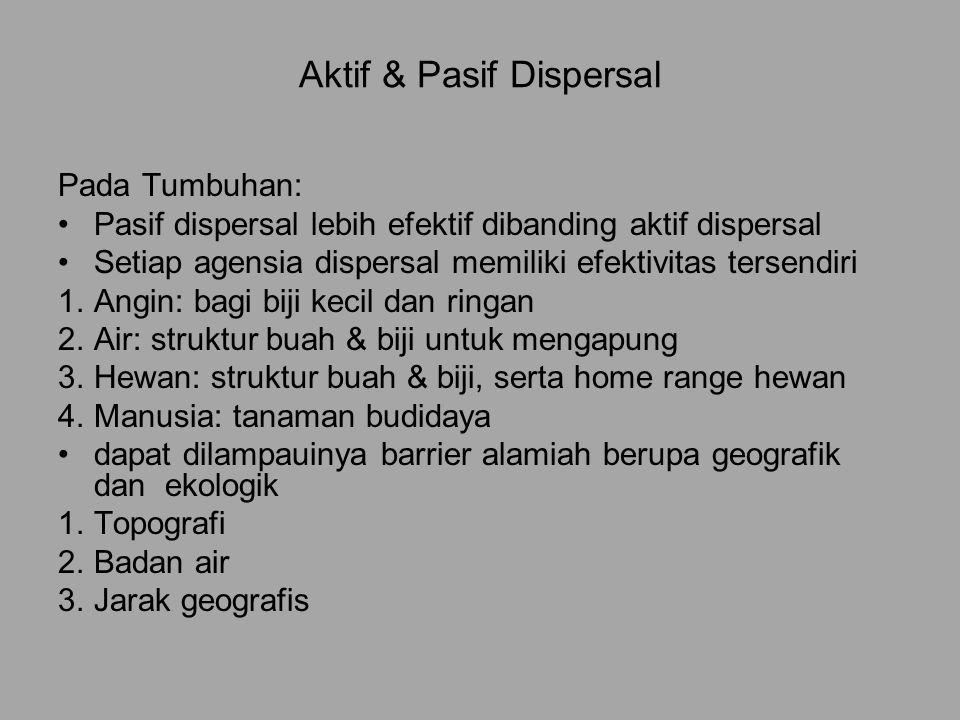Aktif & Pasif Dispersal