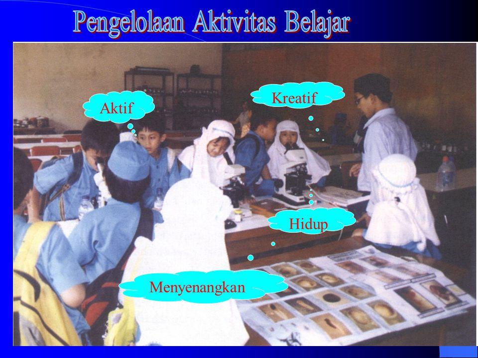 Pengelolaan Aktivitas Belajar
