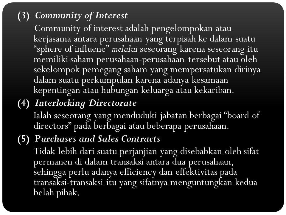 (3) Community of Interest