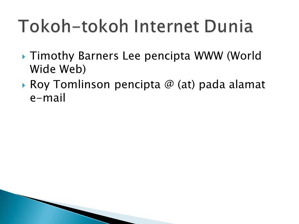 Tokoh-tokoh Internet Dunia