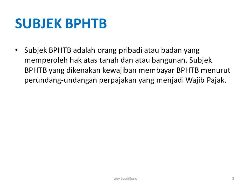 SUBJEK BPHTB