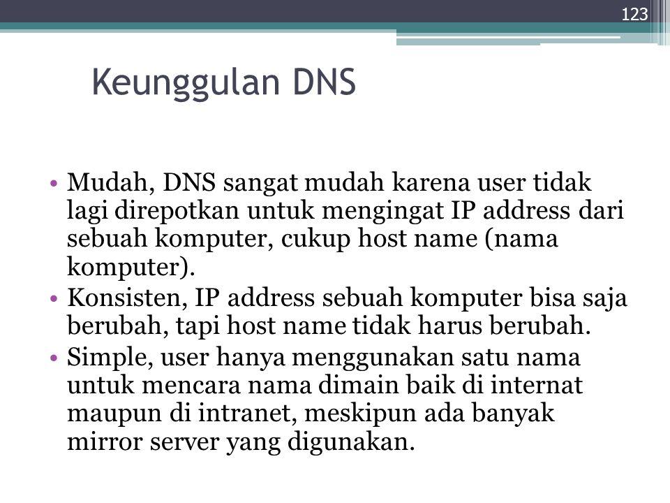Keunggulan DNS
