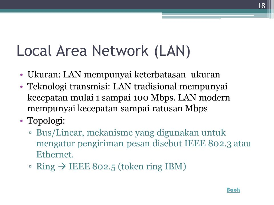 Local Area Network (LAN)