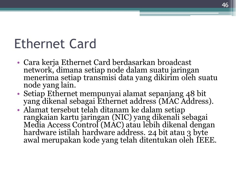 Ethernet Card