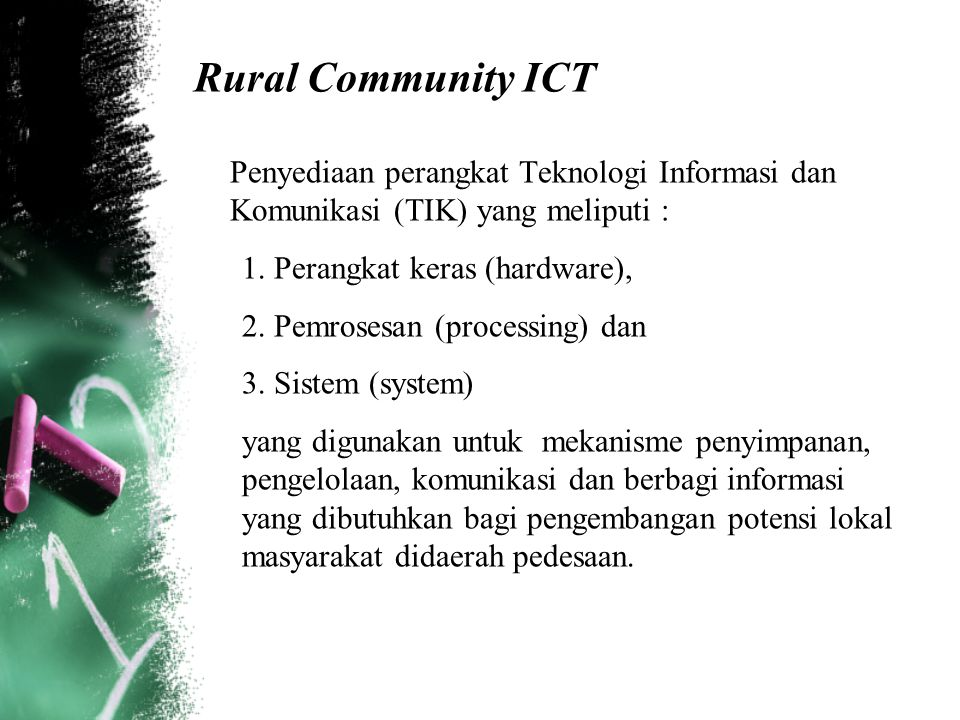 Rural Community ICT