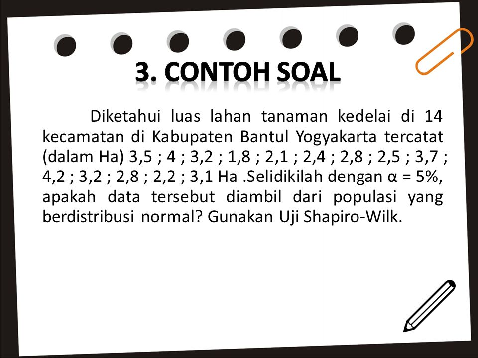 3. CONTOH SOAL