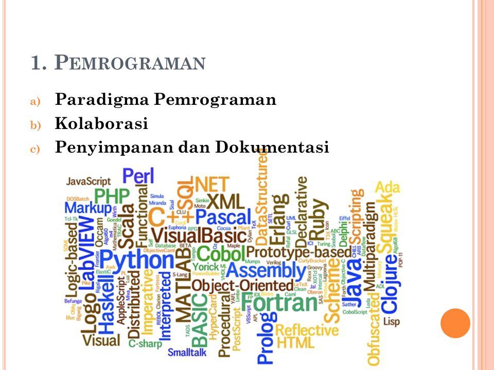 1. Pemrograman Paradigma Pemrograman Kolaborasi