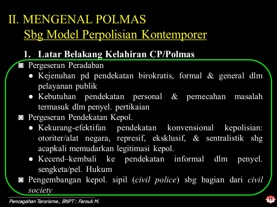 Sbg Model Perpolisian Kontemporer