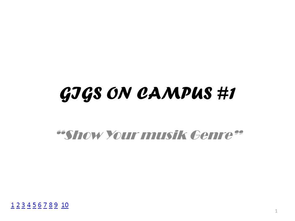 Show Your musik Genre