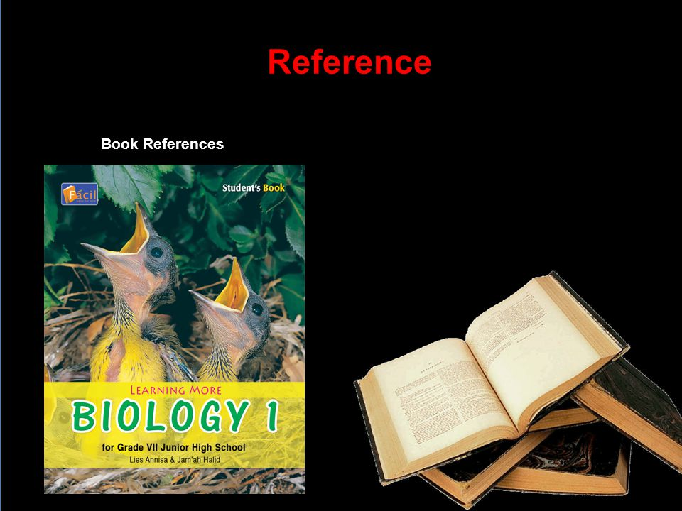 Reference Book References