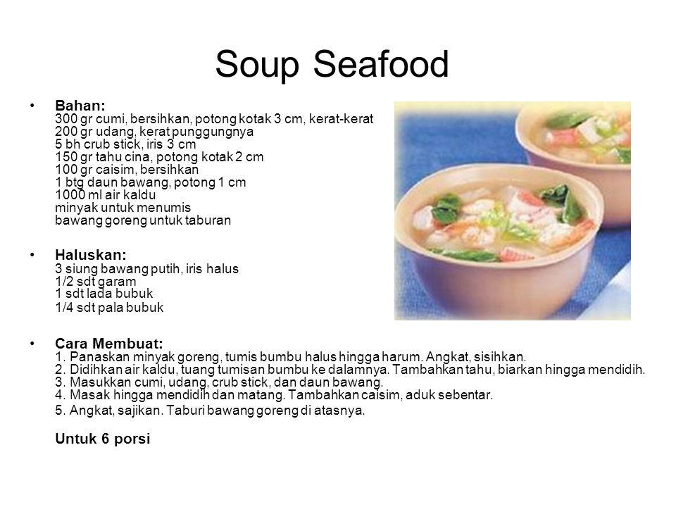Soup Seafood
