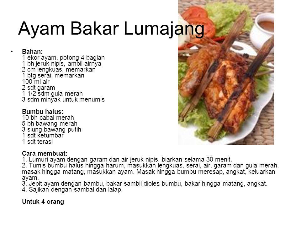 Ayam Bakar Lumajang