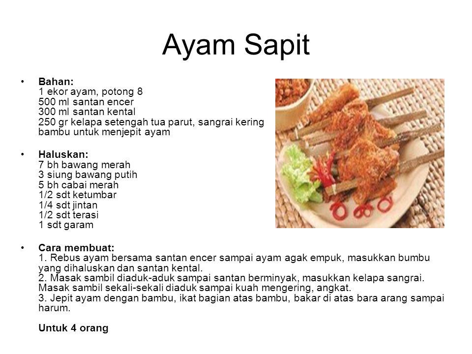 Ayam Sapit