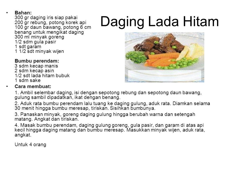 Daging Lada Hitam