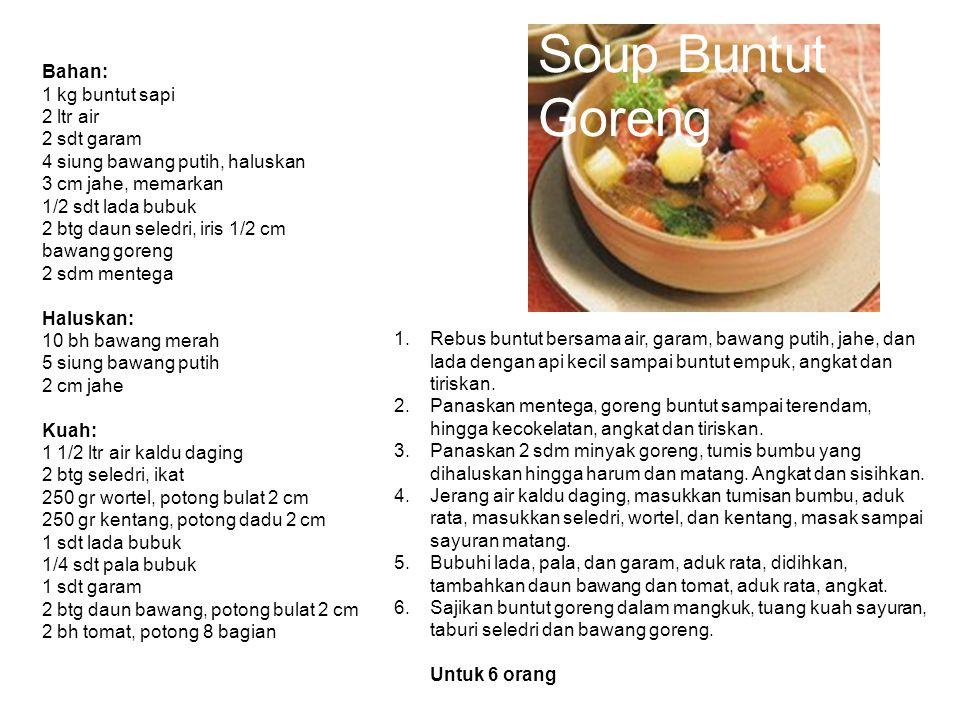 Soup Buntut Goreng