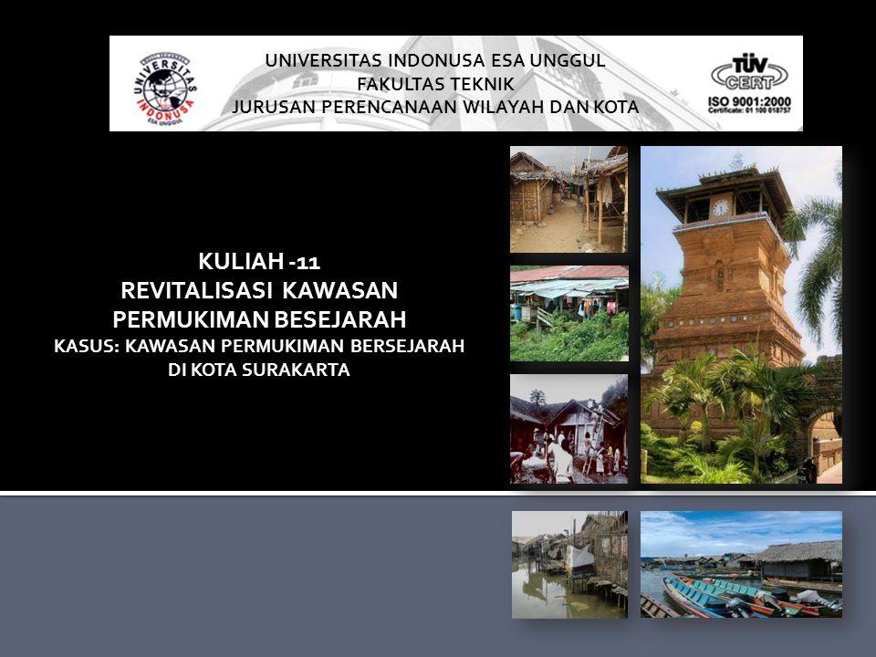 KULIAH -11 REVITALISASI KAWASAN PERMUKIMAN BESEJARAH