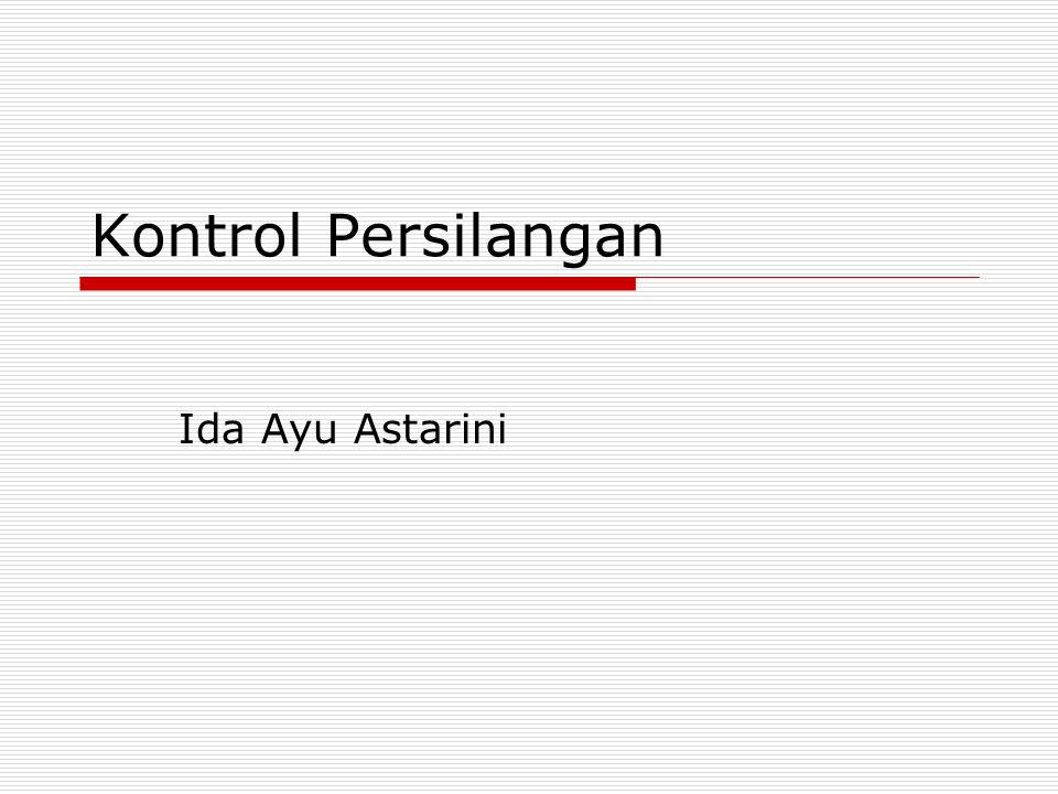 Kontrol Persilangan Ida Ayu Astarini