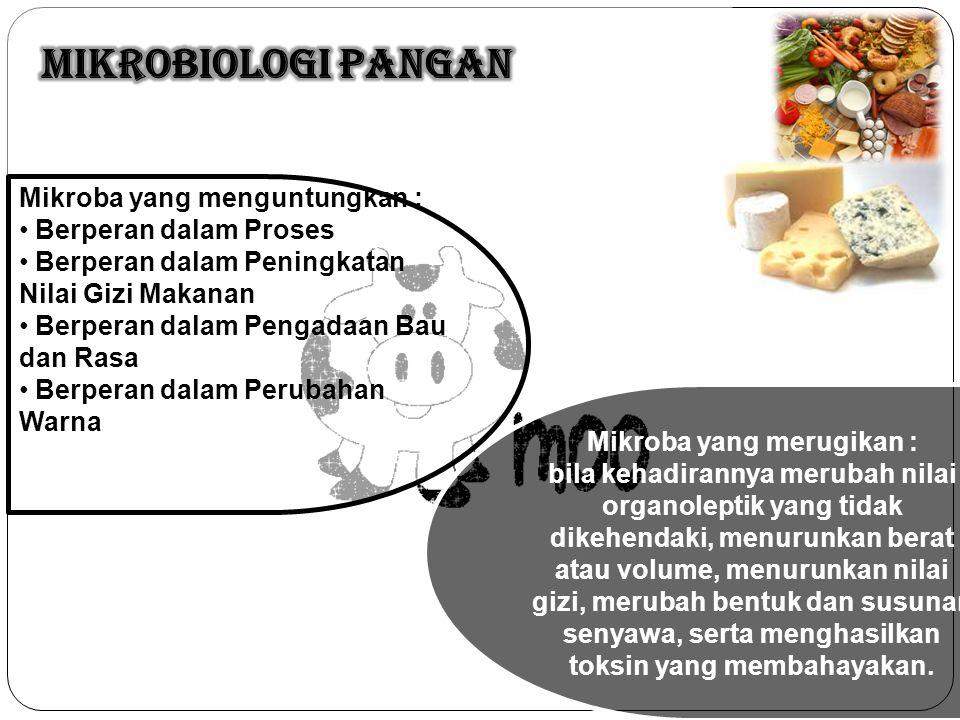 Mikroba yang merugikan :