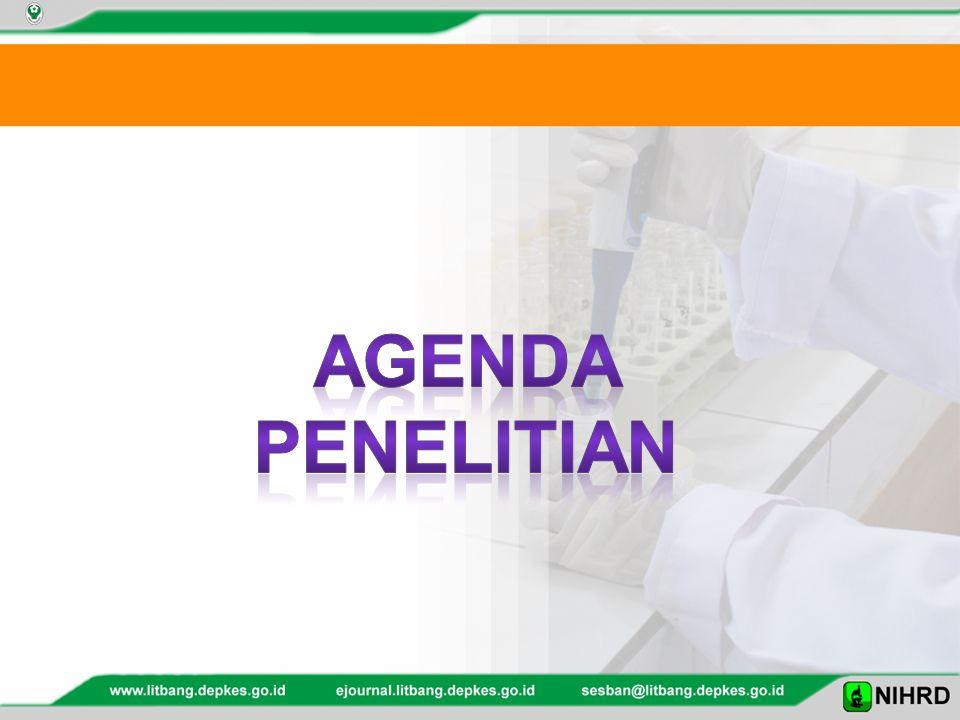Agenda penelitian
