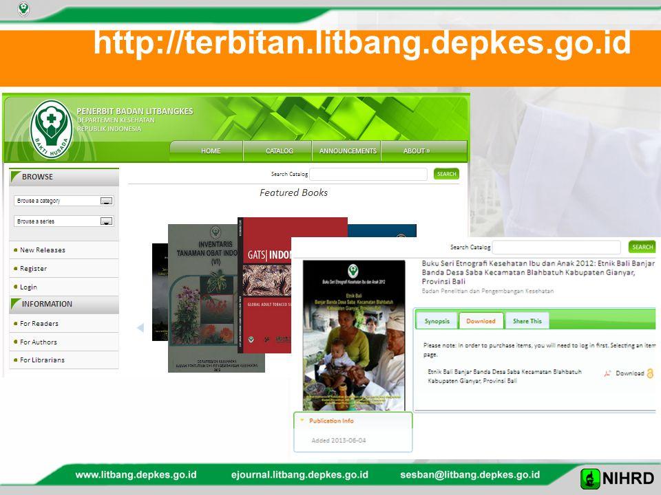 http://terbitan.litbang.depkes.go.id