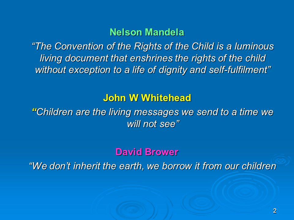Nelson Mandela John W Whitehead