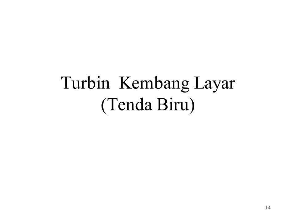 Turbin Kembang Layar (Tenda Biru)