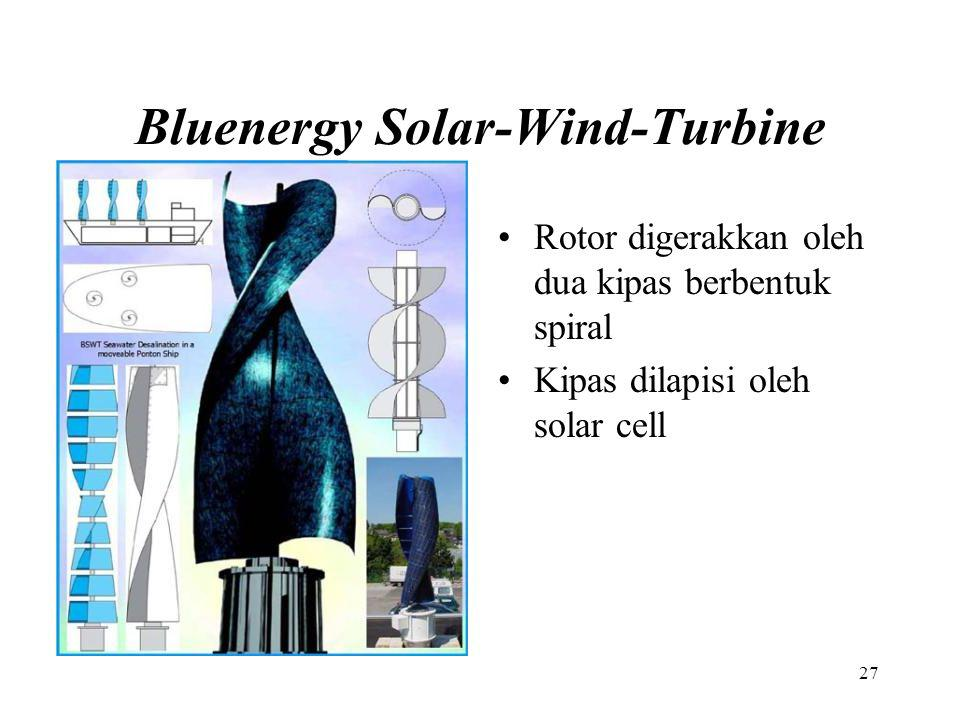 Bluenergy Solar-Wind-Turbine