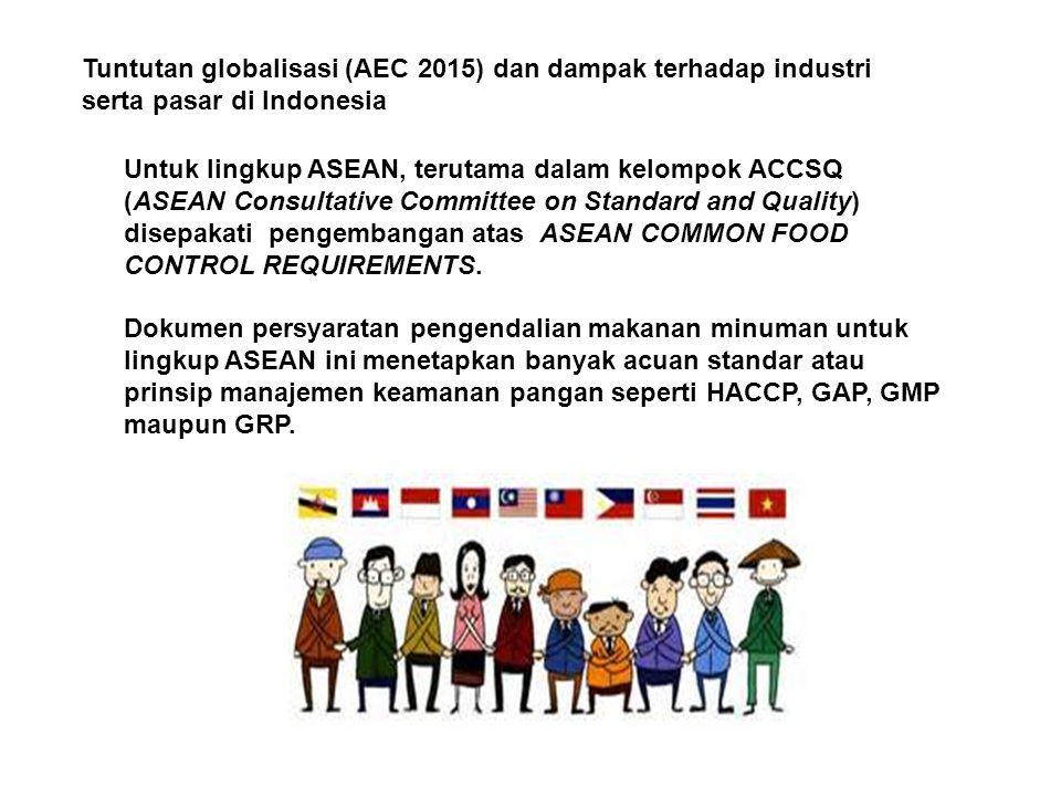 Tuntutan globalisasi (AEC 2015) dan dampak terhadap industri serta pasar di Indonesia