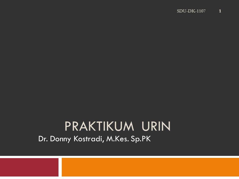 Dr. Donny Kostradi, M.Kes. Sp.PK