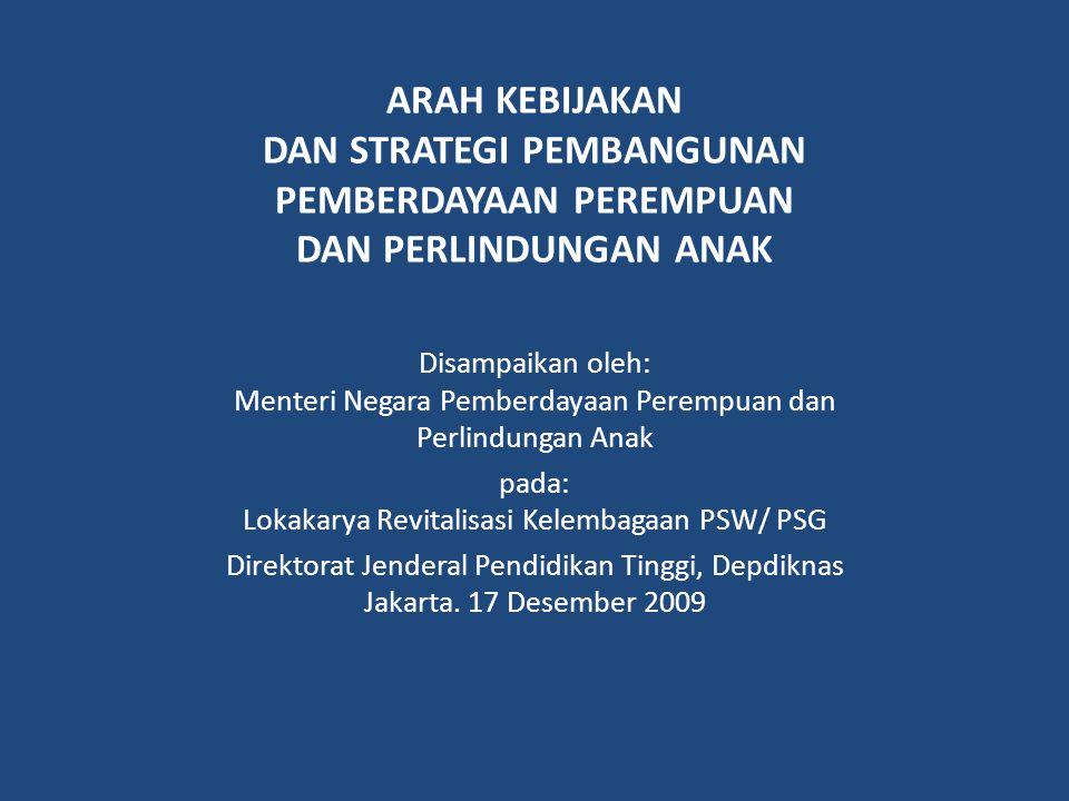 pada: Lokakarya Revitalisasi Kelembagaan PSW/ PSG