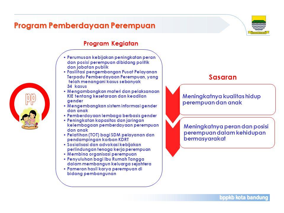 pp Program Pemberdayaan Perempuan Sasaran Program Kegiatan