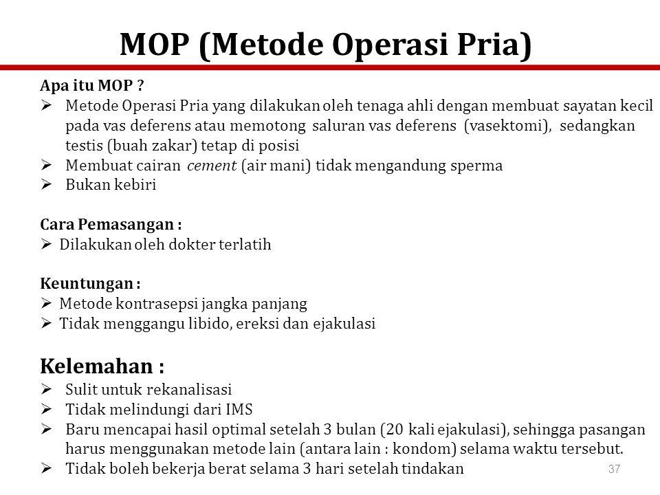 MOP (Metode Operasi Pria)