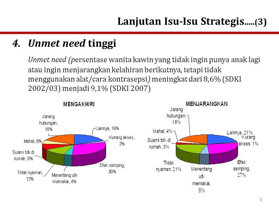 Lanjutan Isu-Isu Strategis.....(3)