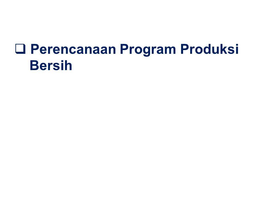 Perencanaan Program Produksi