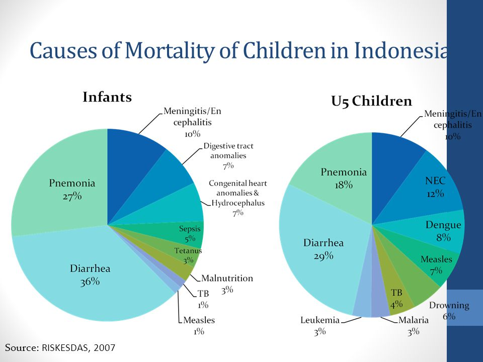 Causes of Mortality of Children in Indonesia