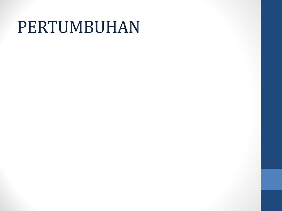 PERTUMBUHAN