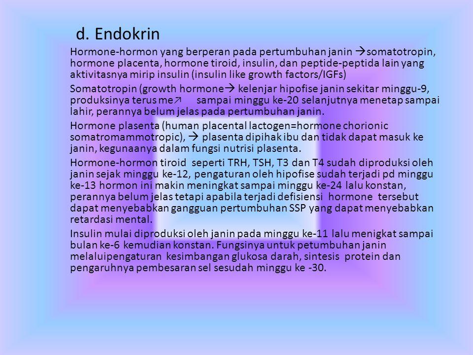 d. Endokrin
