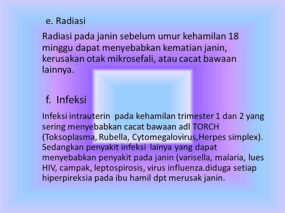 e. Radiasi