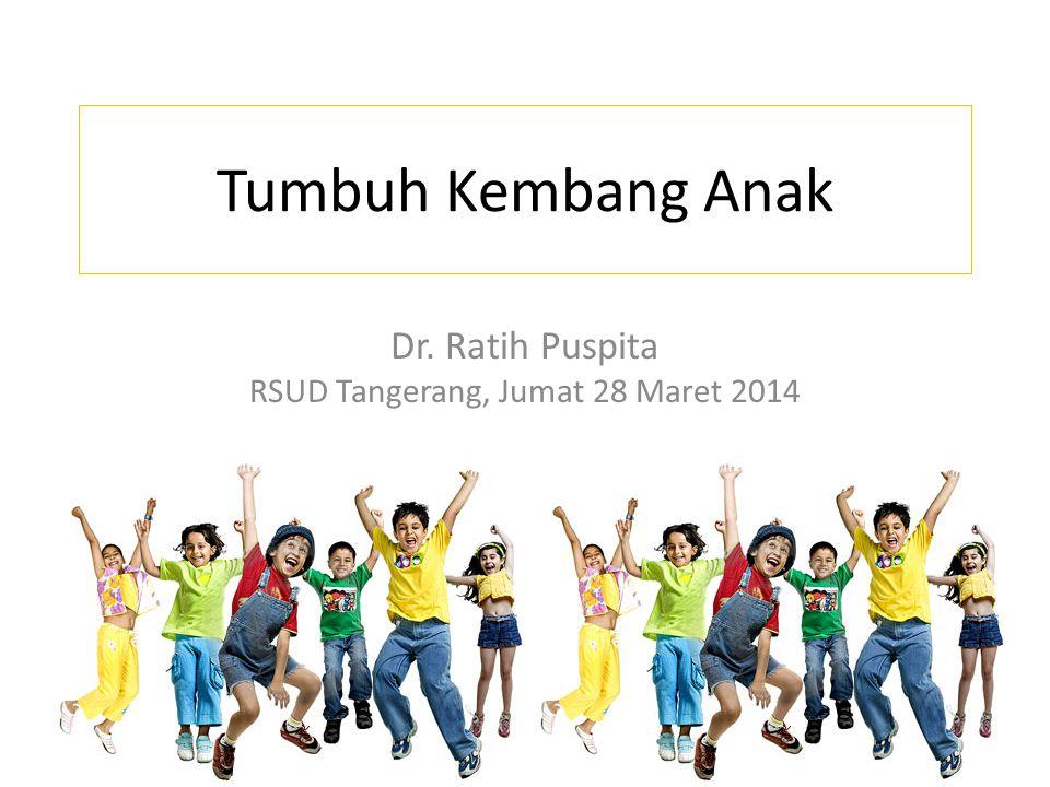 Dr. Ratih Puspita RSUD Tangerang, Jumat 28 Maret 2014