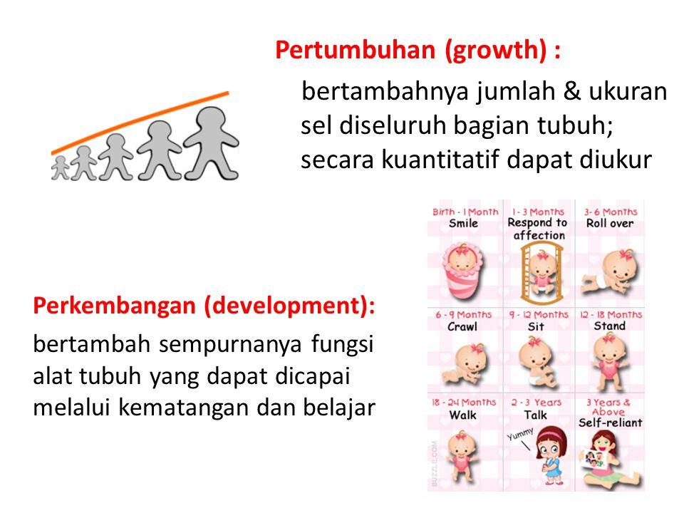 Pertumbuhan (growth) :