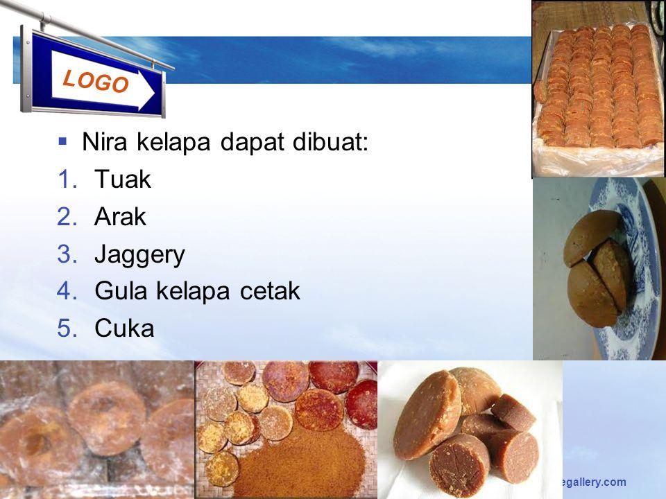 Nira kelapa dapat dibuat: Tuak Arak Jaggery Gula kelapa cetak Cuka