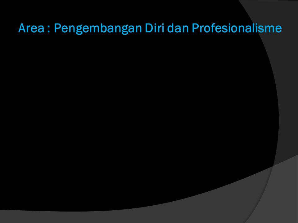 Area : Pengembangan Diri dan Profesionalisme